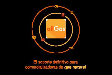 Gestor de comercializadoras de gas allGas